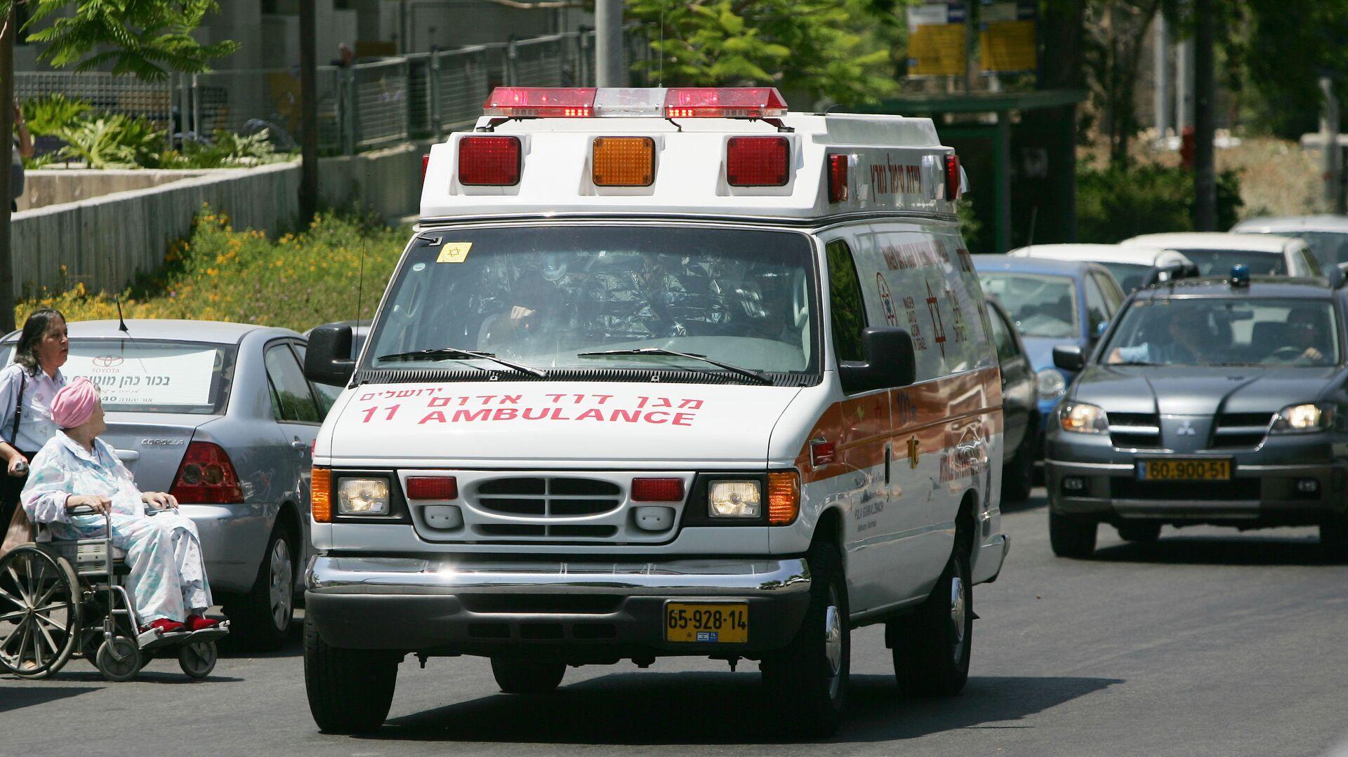 Ambulancia de Israel - Sputnik Mundo, 1920, 16.05.2021
