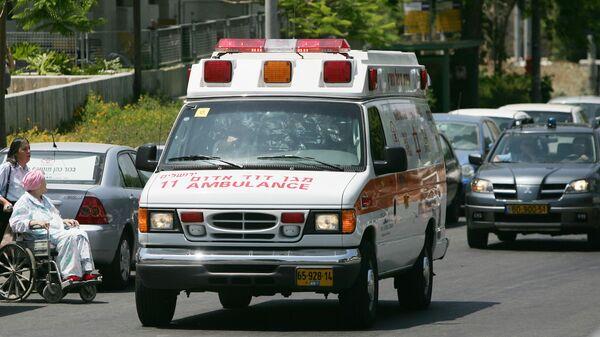 Ambulancia de Israel - Sputnik Mundo