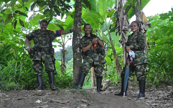 Guerrilleras de las FARC - Sputnik Mundo