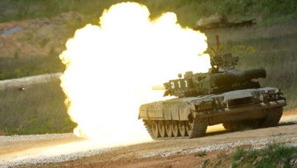 Tanque T-80 (archivo) - Sputnik Mundo
