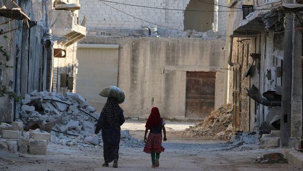Situación en Alepo - Sputnik Mundo