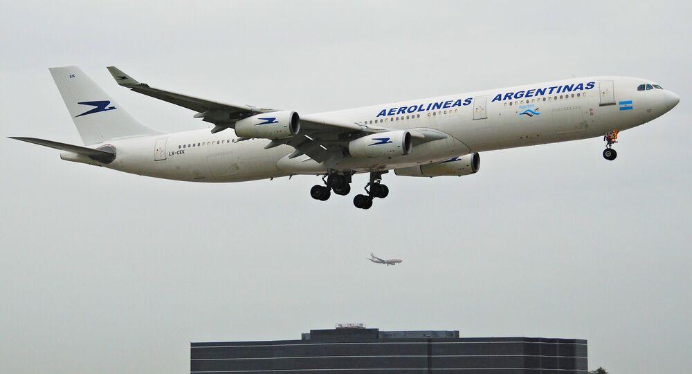 Avión de Aerolíneas Argentinas (archivo)