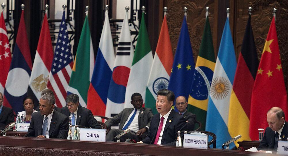 La ceremonia de apertura de la Cumbre G20 (archivo)