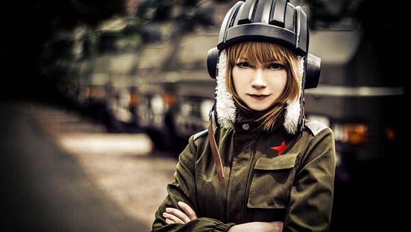 Nastya, una estudiante de Moscú - Sputnik Mundo