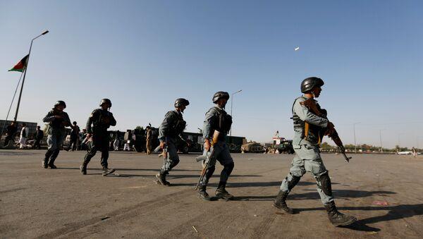 Policías de Afganistán - Sputnik Mundo