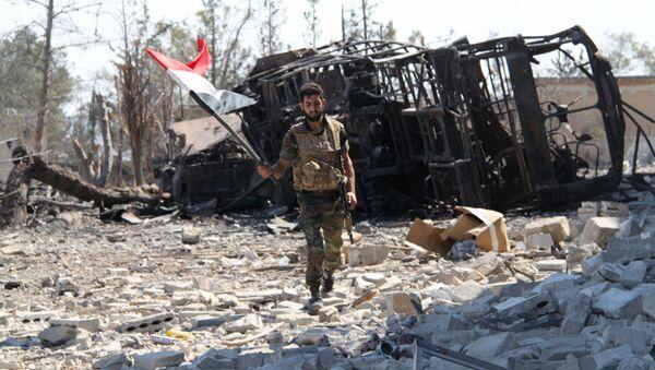Soldado sirio - Sputnik Mundo