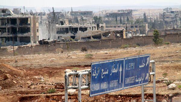 Consecuencias del conflicto en Siria - Sputnik Mundo