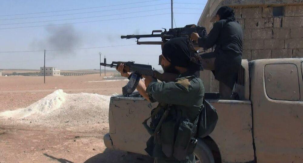 Combatientes de ISIS (Archivo)