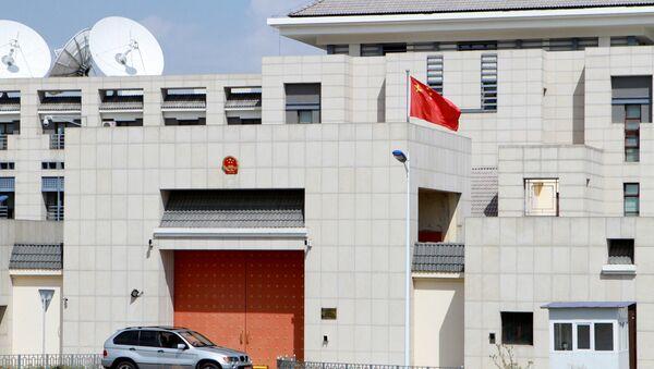 Embajada china en Biskek - Sputnik Mundo