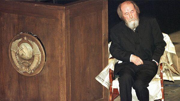 Alexandr Solzhenitsin, escritor ruso - Sputnik Mundo