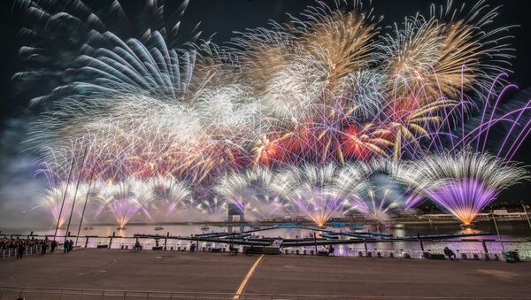 Festival Internacional de Moscú 'Círculo de Luz' 2015 - Sputnik Mundo