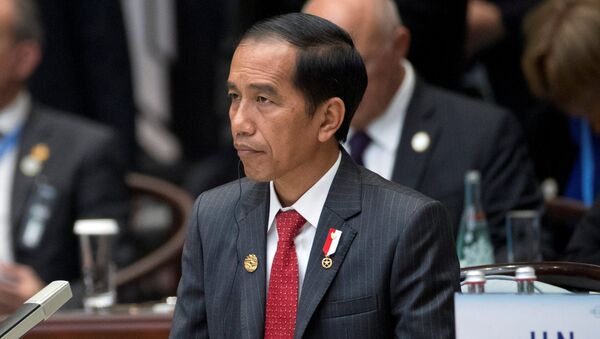 Indonesian President Joko Widodo attends the opening ceremony of the G20 Summit in Hangzhou - Sputnik Mundo