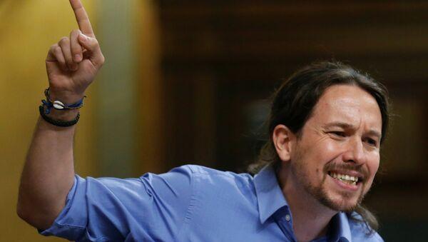 Pablo Iglesias, líder de Podemos - Sputnik Mundo