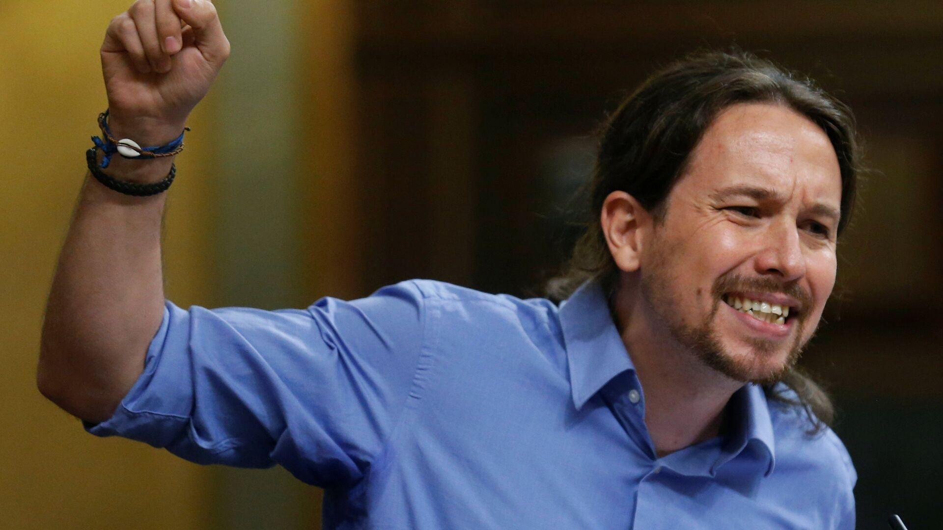 Pablo Iglesias, líder de Podemos - Sputnik Mundo, 1920, 04.05.2021