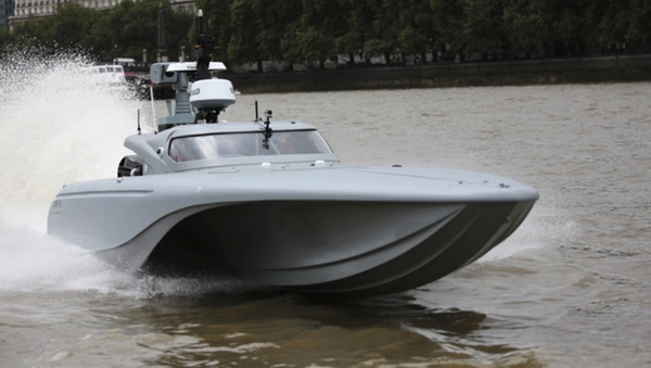 Lancha de motor 'Maritime Autonomy Surface Testbed' (MAST) - Sputnik Mundo