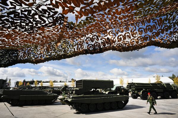 Army 2016: las armas más sofisticadas del Ejército ruso en una exposición - Sputnik Mundo