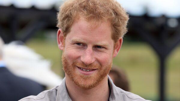 El príncipe Harry de Inglaterra - Sputnik Mundo
