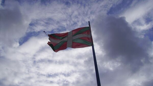 La ikurriña, bandera del País Vasco - Sputnik Mundo
