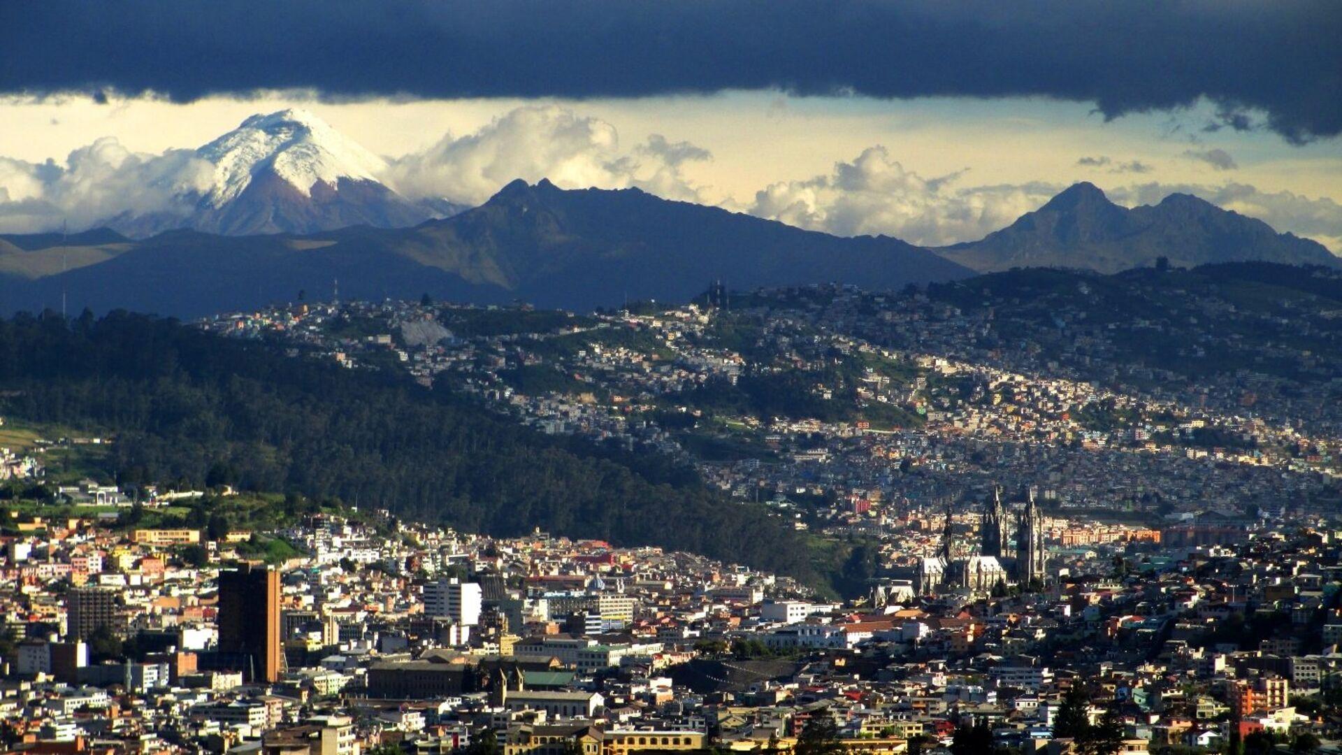Quito, Ecuador - Sputnik Mundo, 1920, 09.04.2021