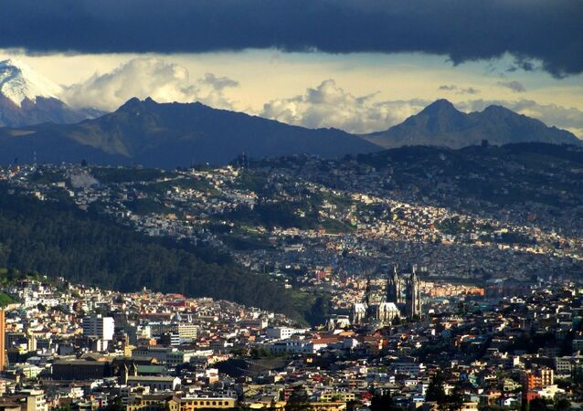 Quito, capital de Ecuador