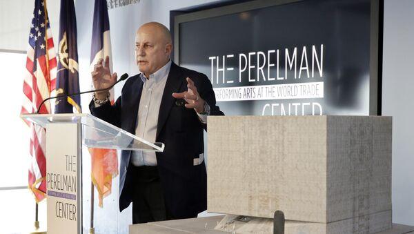 Ronald Perelman y el diseño de nuevo centro de artes escénicas - Sputnik Mundo