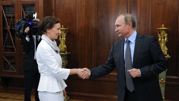 Ana Kuznetsova, nueva Defensora del Menor de Rusia - Sputnik Mundo