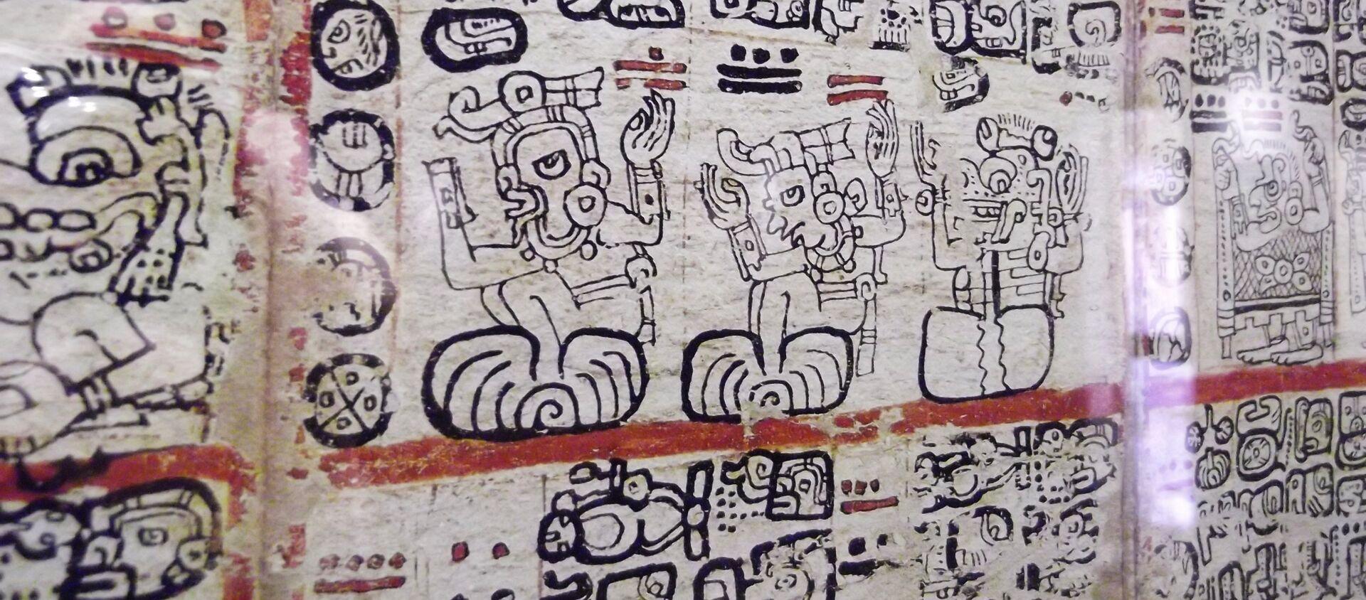 Códice Maya de Madrid - Sputnik Mundo, 1920, 21.10.2019