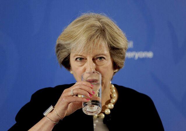 Theresa May, primera ministra del Reino Unido (archivo)