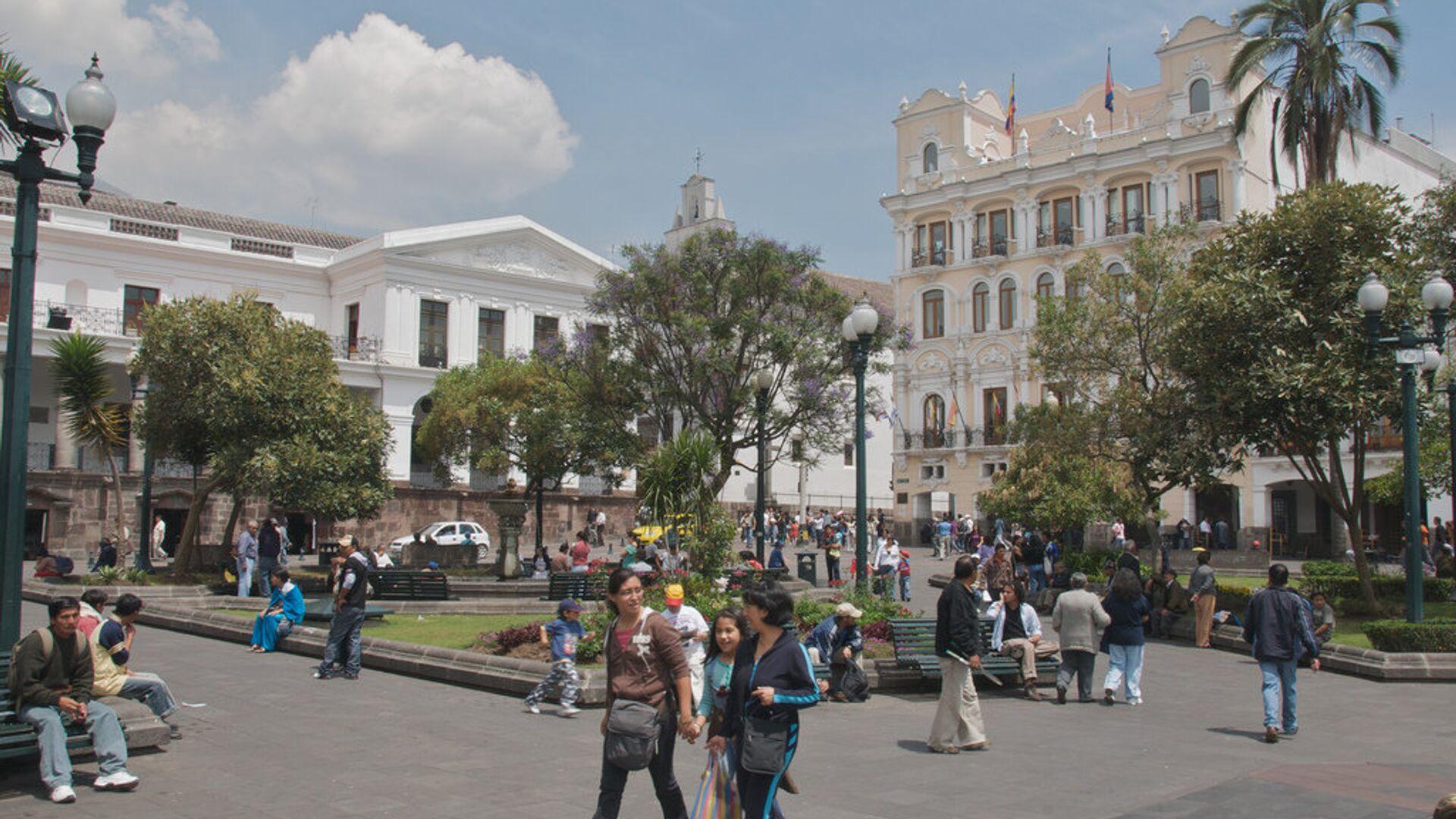 Ciudad de Quito, capital de Ecuador - Sputnik Mundo, 1920, 10.09.2021