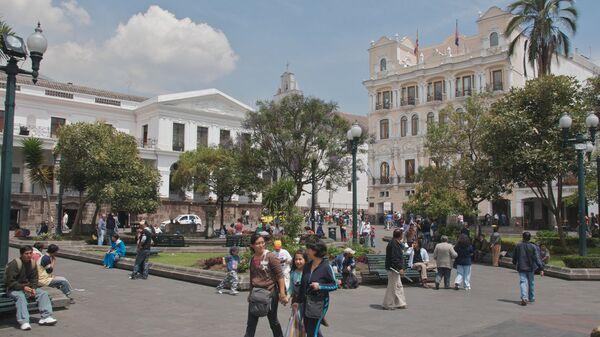 Ciudad de Quito, capital de Ecuador - Sputnik Mundo