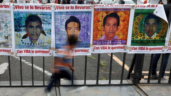 Images of some of the 43 missing students of Ayotzinapa College Raul Isidro Burgos - Sputnik Mundo
