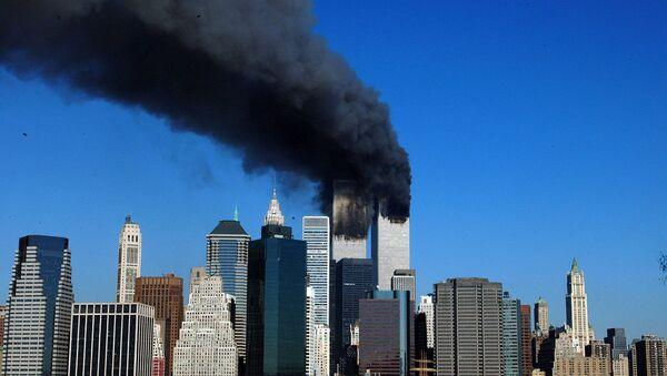 Ataque terrorista contra las Torres Gemelas en Nueva York (archivo) - Sputnik Mundo