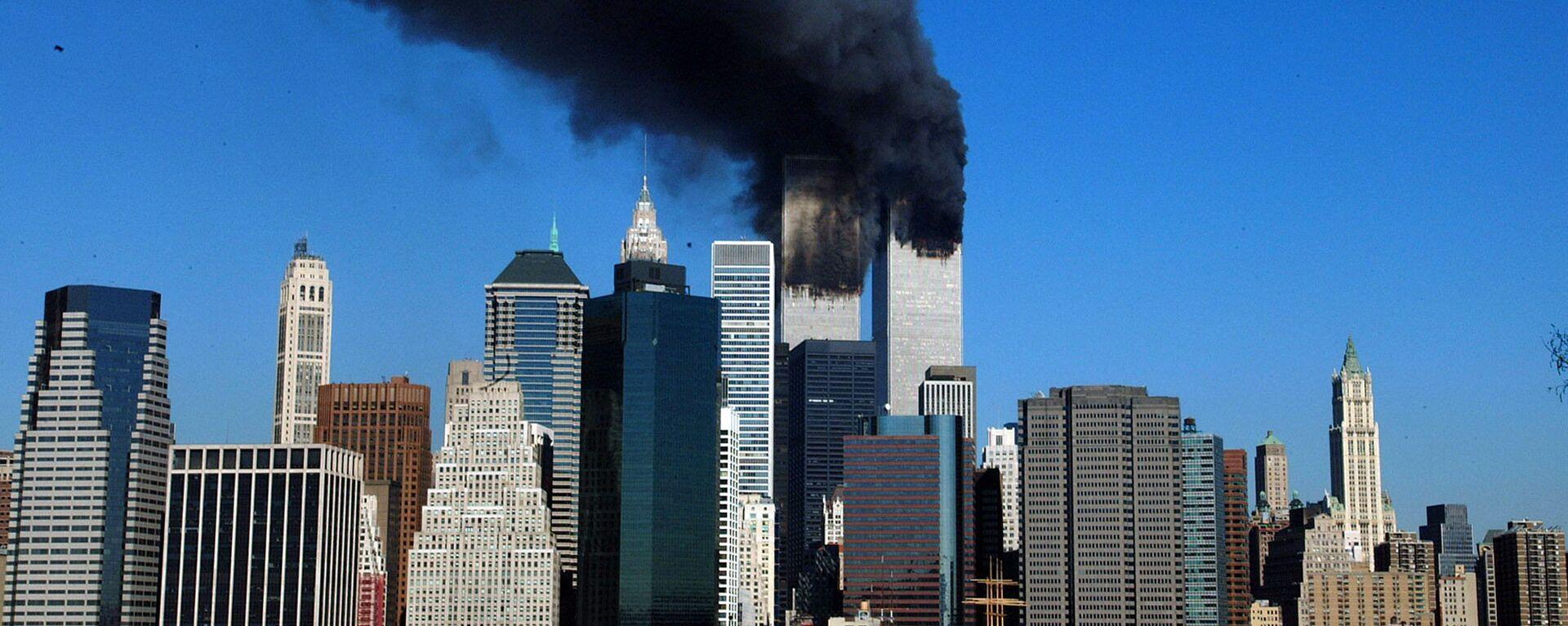 Ataque terrorista contra las Torres Gemelas en Nueva York (archivo) - Sputnik Mundo, 1920, 10.09.2021