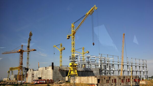 Construction site of Bulgaria's second nuclear power plant in the town of Belene. (File) - Sputnik Mundo