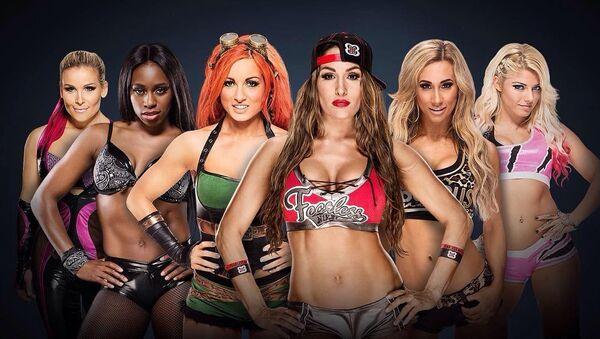 WWE Divas - Sputnik Mundo