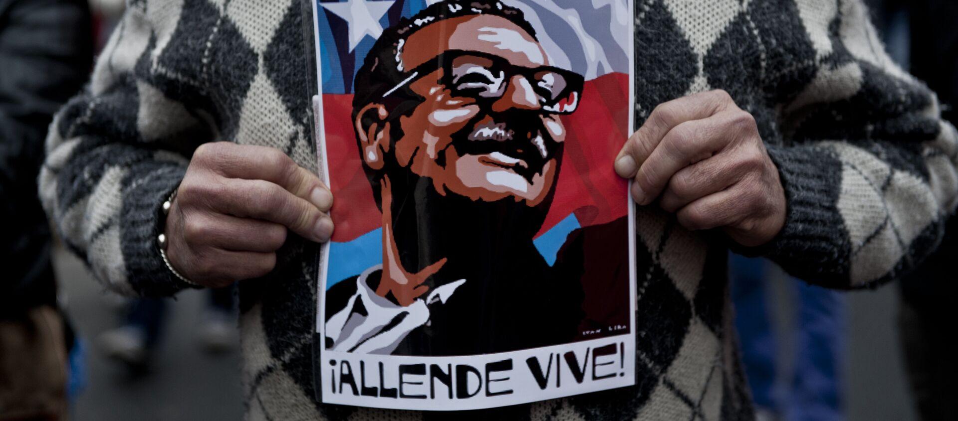 Salvador Allende - Sputnik Mundo, 1920, 11.09.2016