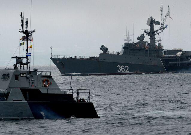 Buques de la Flota rusa del Pacífico