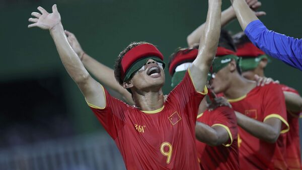 Selección paralímpica china de fútbol - Sputnik Mundo