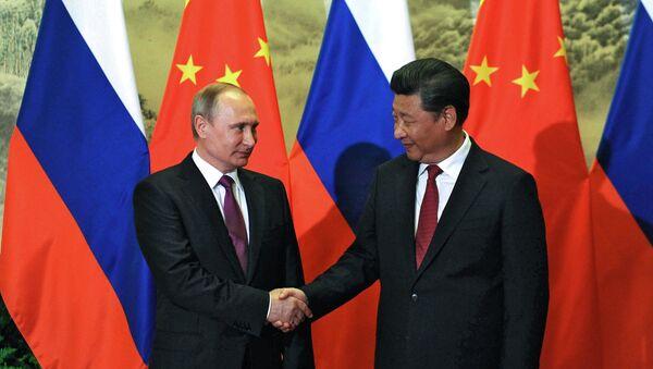 Los jefes de Estado de Rusia y China - Sputnik Mundo
