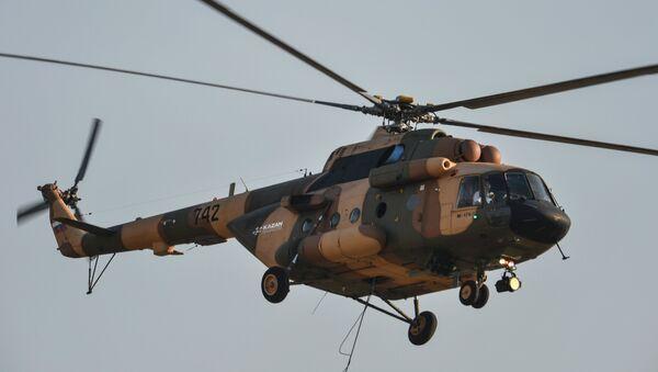 Helicóptero Mi-17B-5 (archivo) - Sputnik Mundo