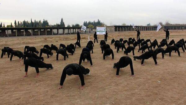 Combatientes de Ahrar al Sham (archivo) - Sputnik Mundo