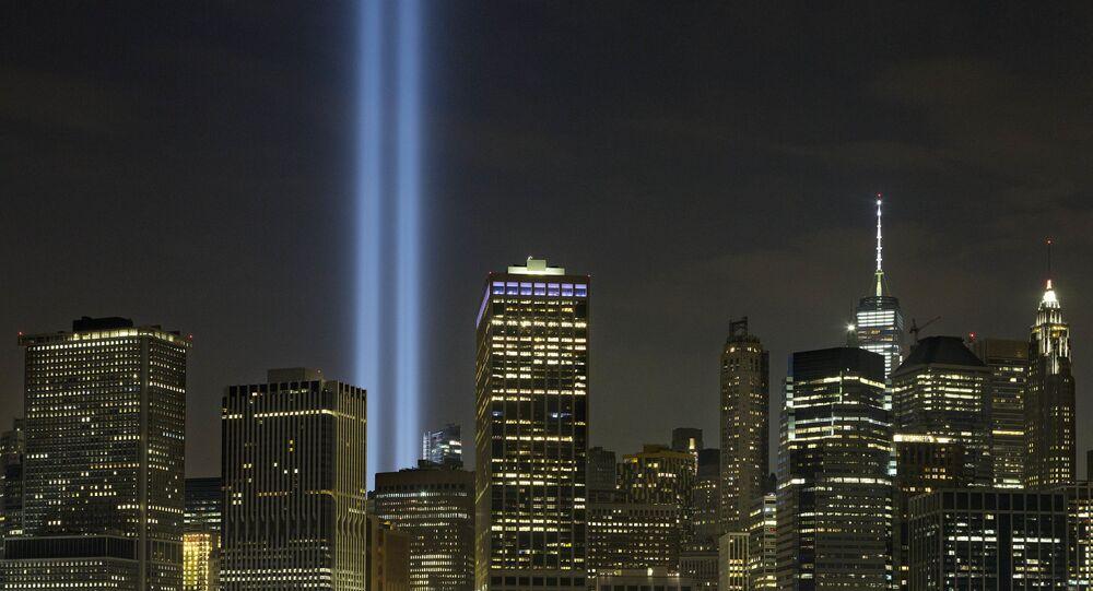 La conmemoración de la tragedia del 11 de septiembre en Nueva York, EEUU