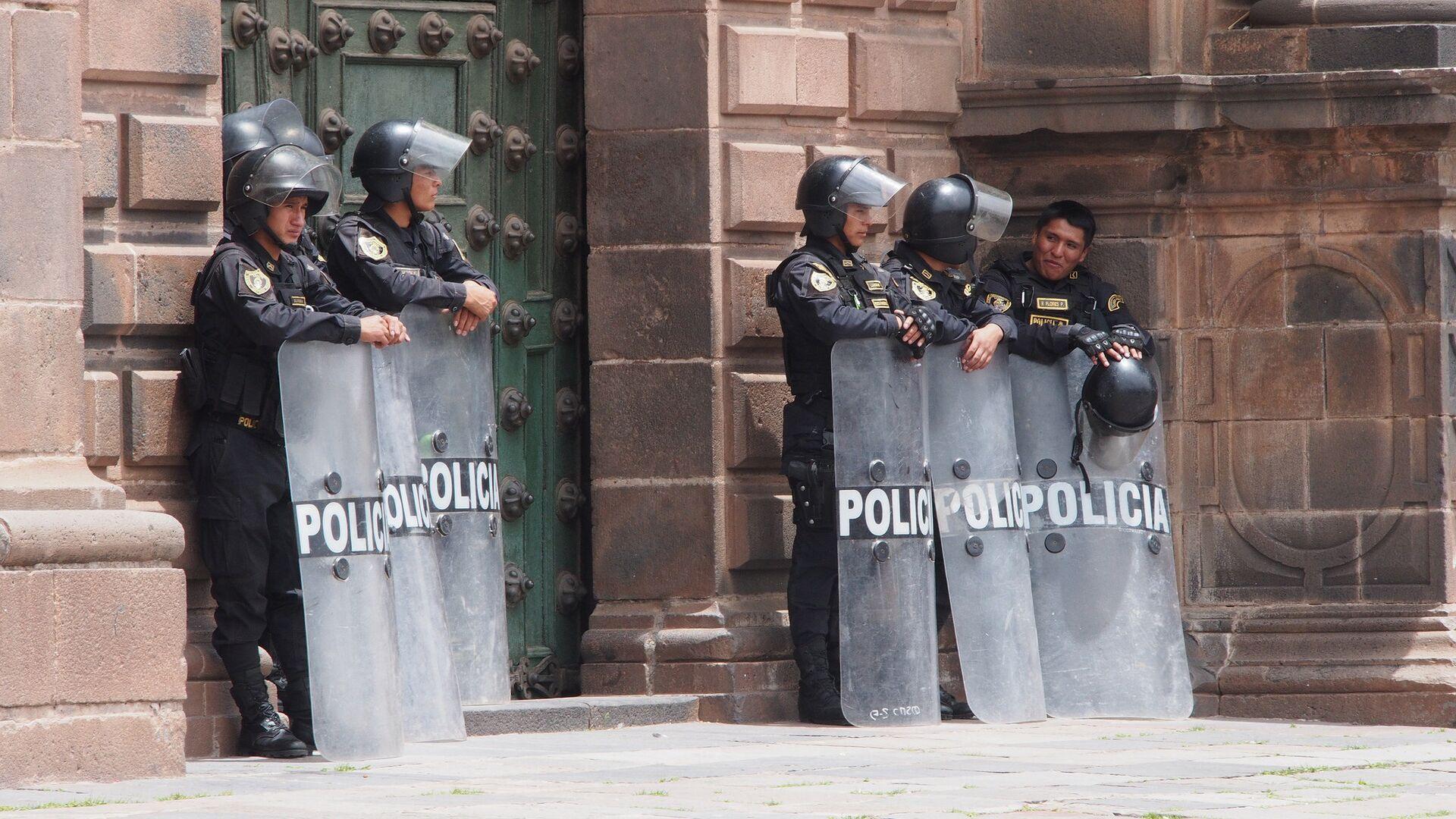 Policías peruanos - Sputnik Mundo, 1920, 25.05.2021