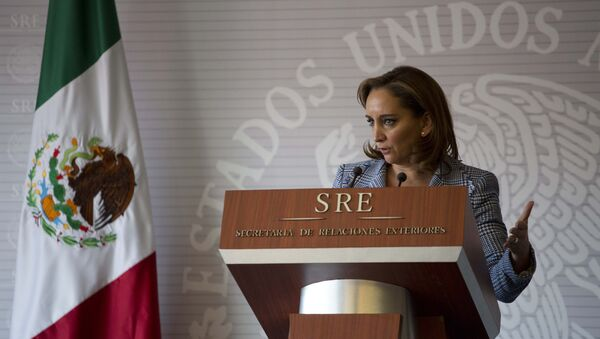 Claudia Ruiz Massieu, canciller de México - Sputnik Mundo