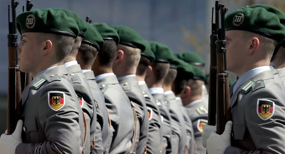 Militares alemanes, Bundeswehr