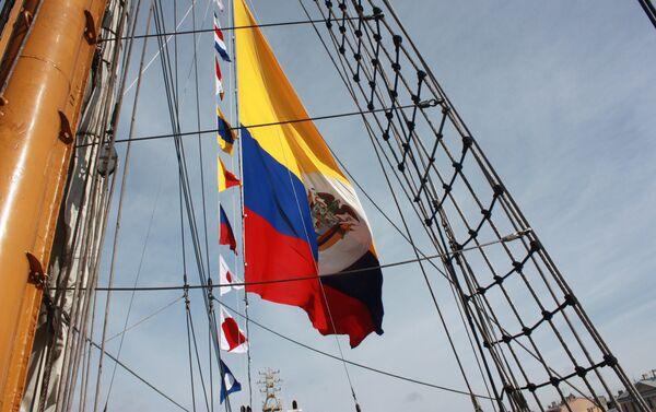 El buque colombiano Gloria en San Petersburgo - Sputnik Mundo