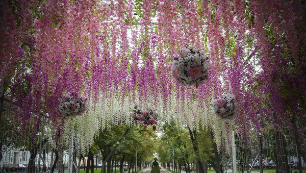 Flores en Moscú - Sputnik Mundo