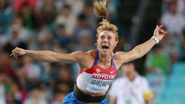 María Abakúmova, una deportista rusa - Sputnik Mundo
