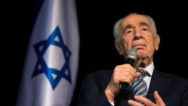 Shimon Peres, expresidente de Israel - Sputnik Mundo