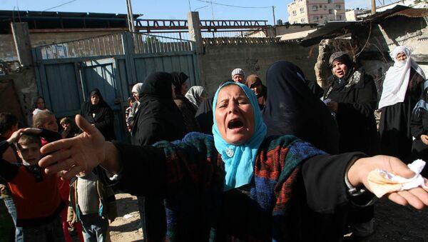 Mujeres palestinas en Gaza - Sputnik Mundo